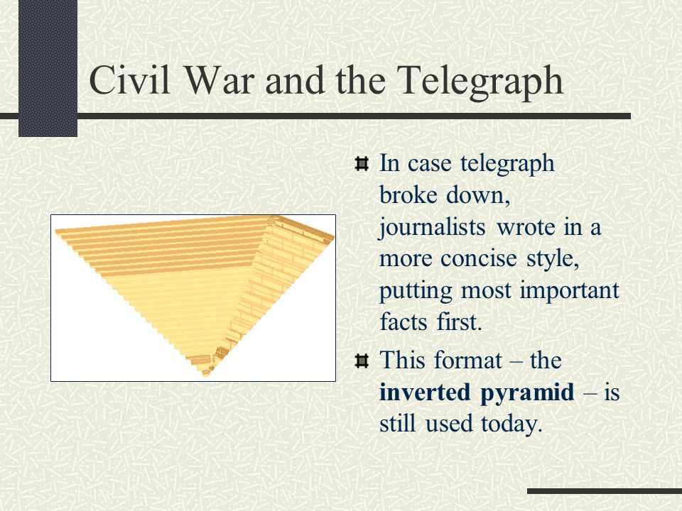 Civil War and the Telegraph