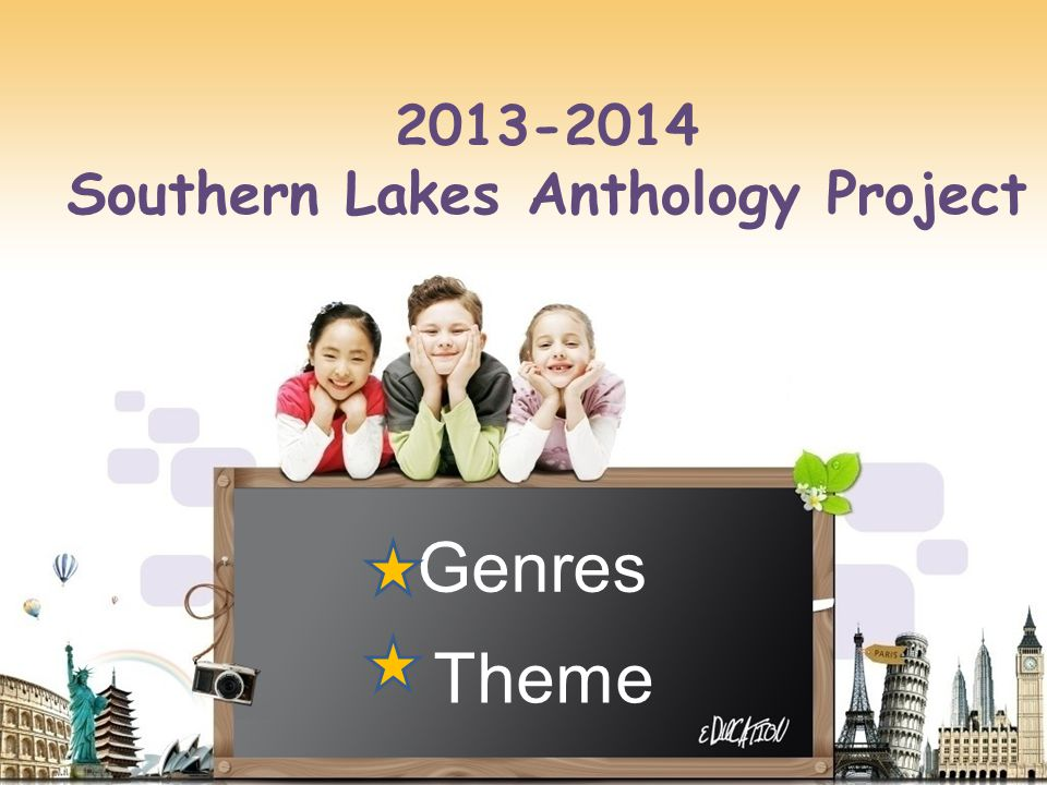 Southern Lakes Anthology Project