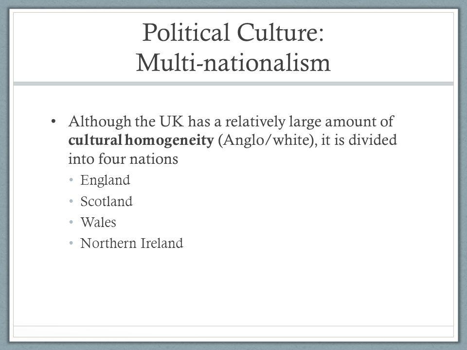 Political Culture: Multi-nationalism