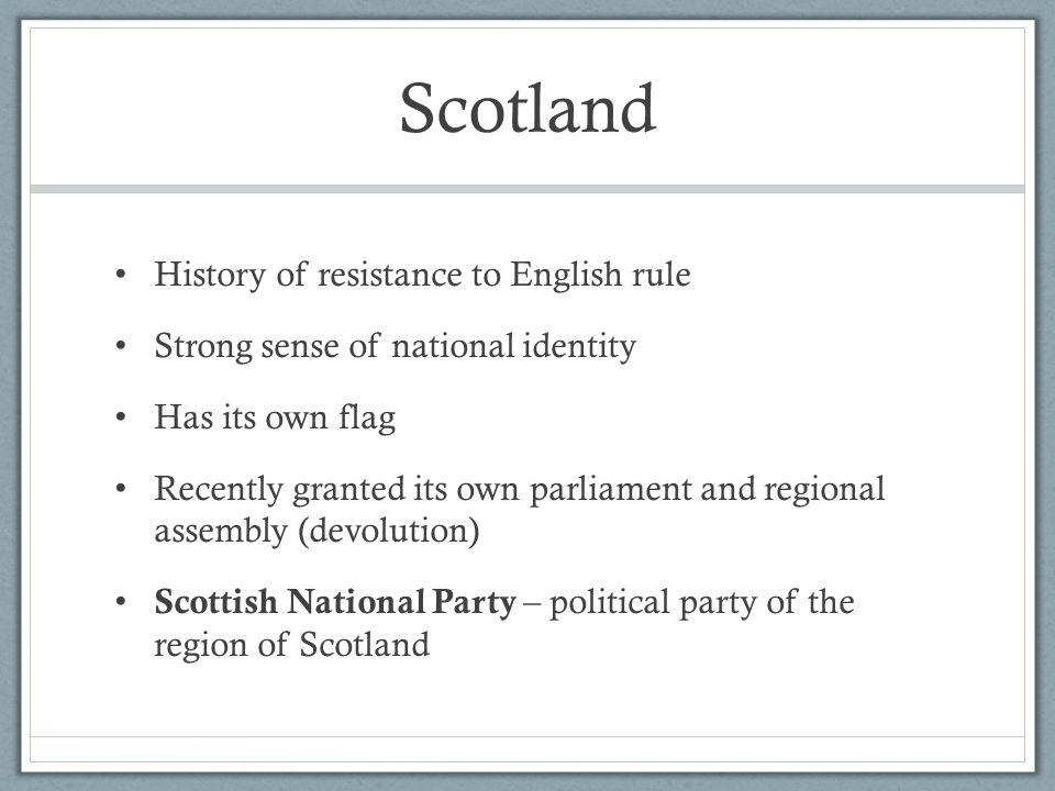 Scotland History of resistance to English rule