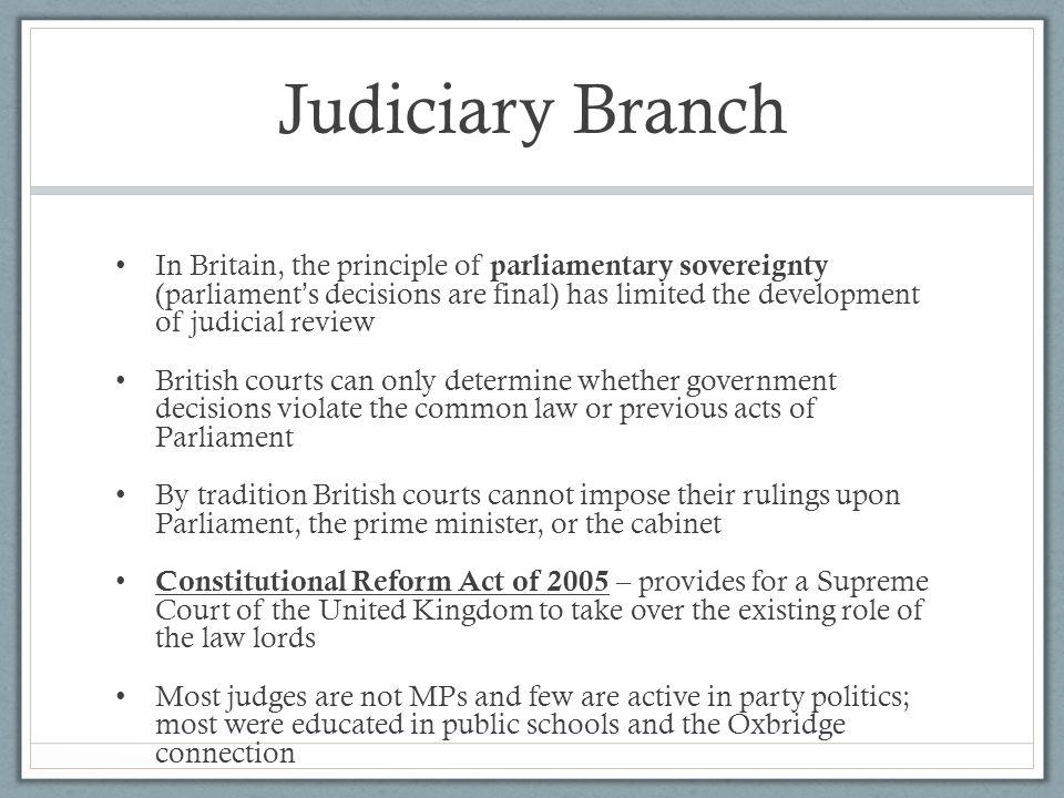 Judiciary Branch