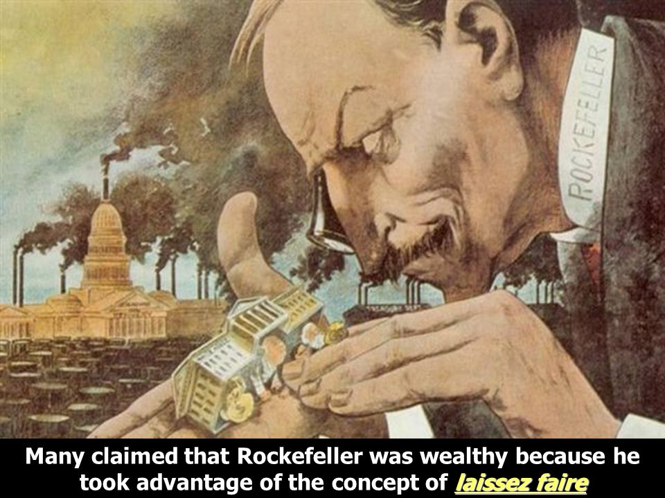 Rockefeller/Control Govt
