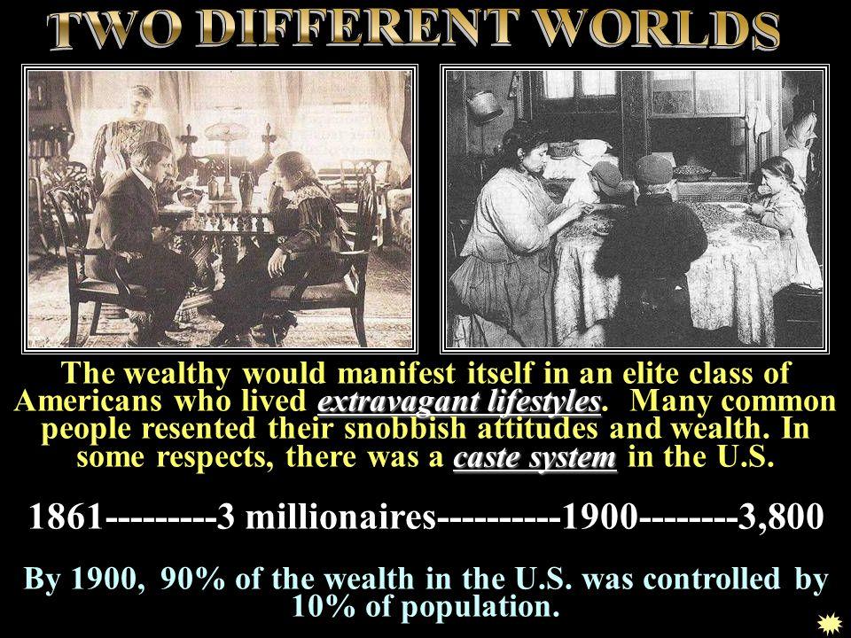 1861---------3 millionaires----------1900--------3,800