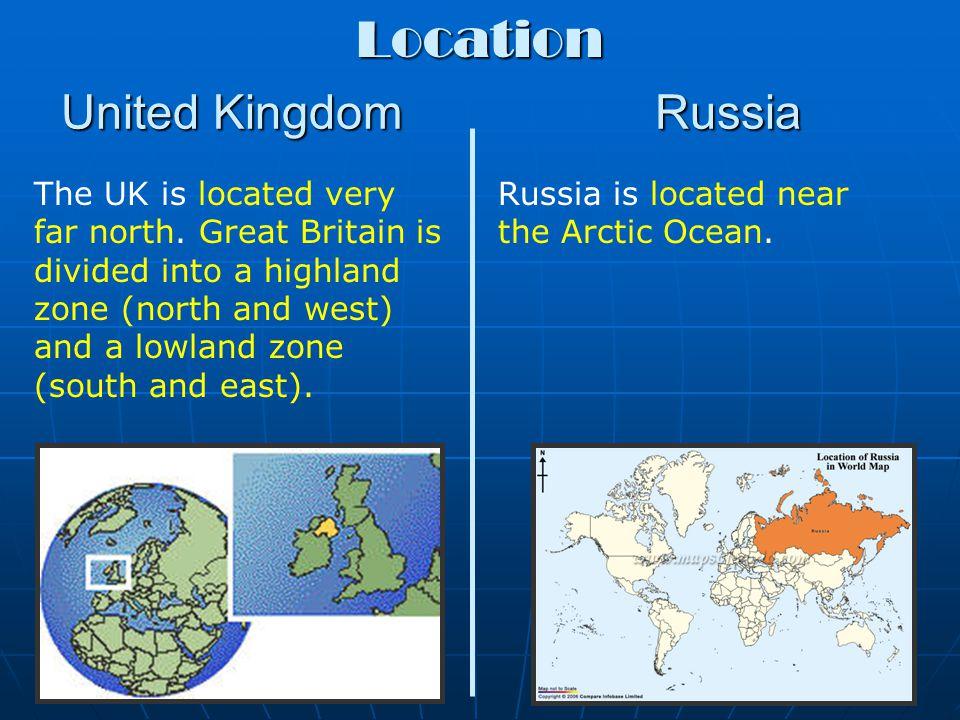 Location United Kingdom Russia