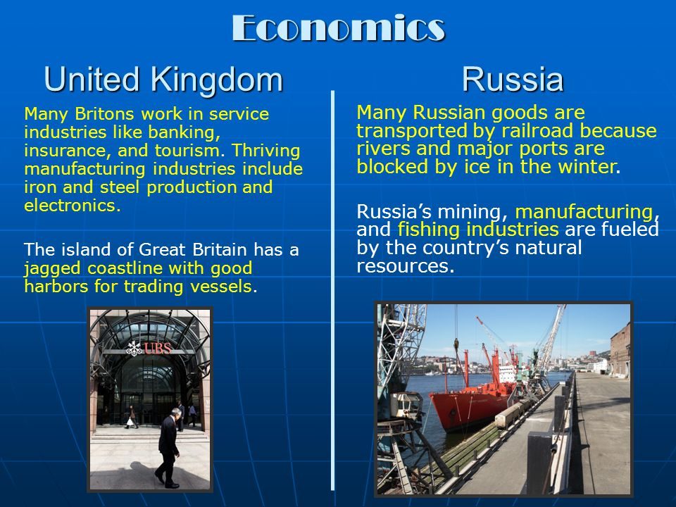 Economics United Kingdom Russia