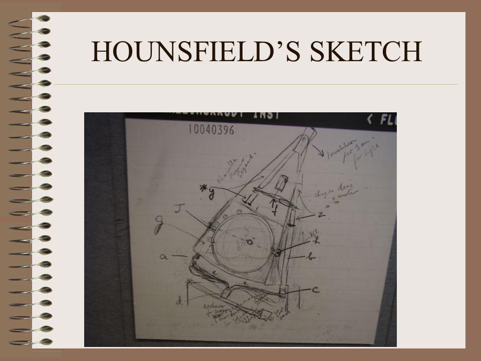 HOUNSFIELD'S SKETCH