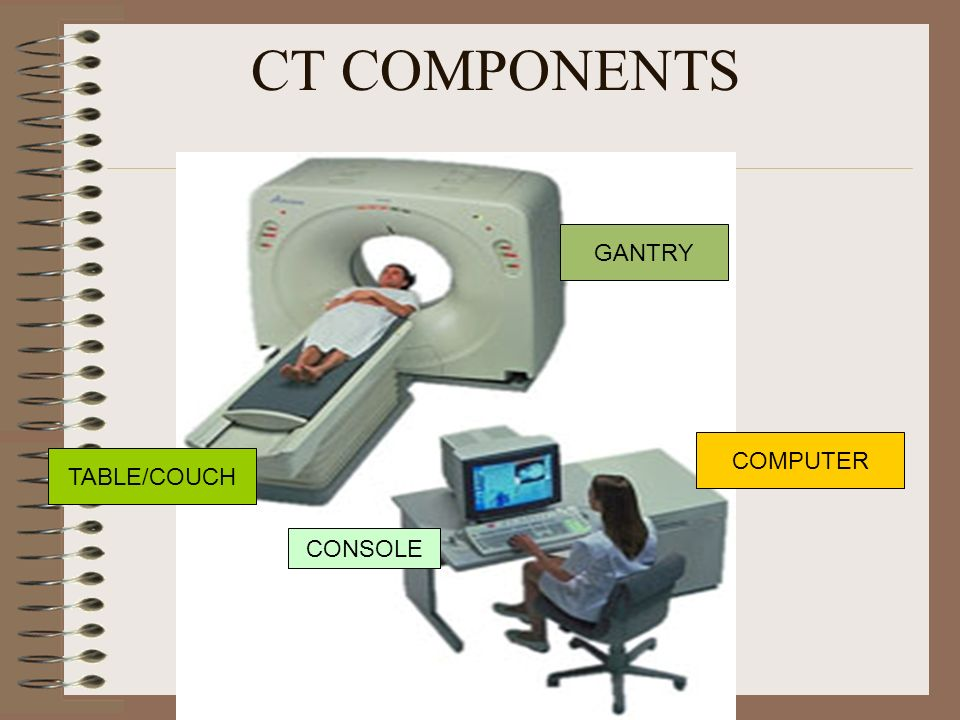 CT COMPONENTS GANTRY COMPUTER TABLE/COUCH CONSOLE