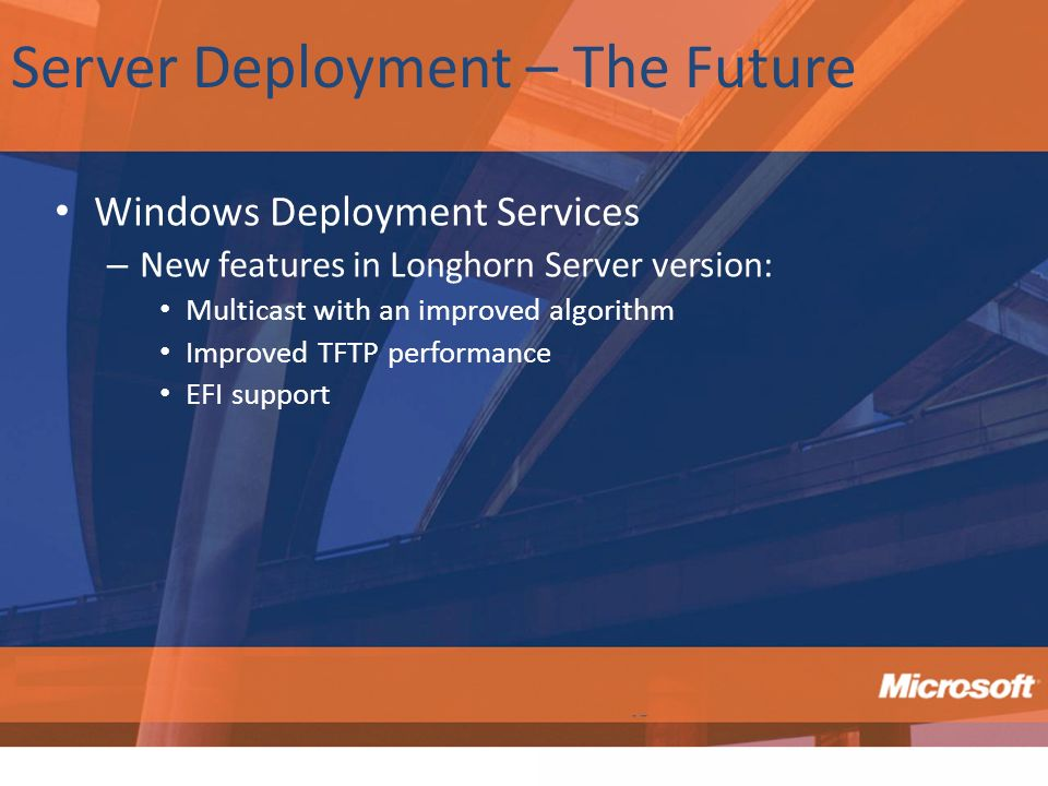 Server Deployment – The Future
