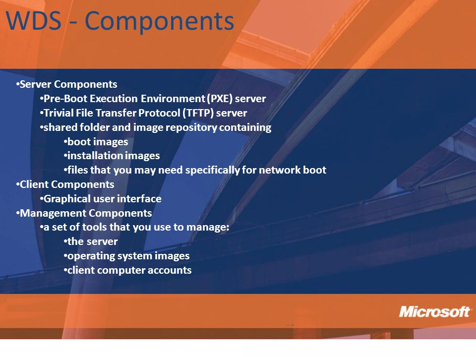 WDS - Components Server Components