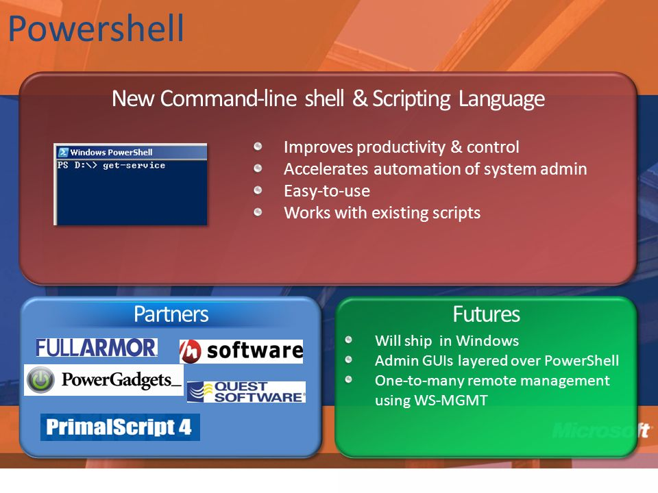 New Command-line shell & Scripting Language