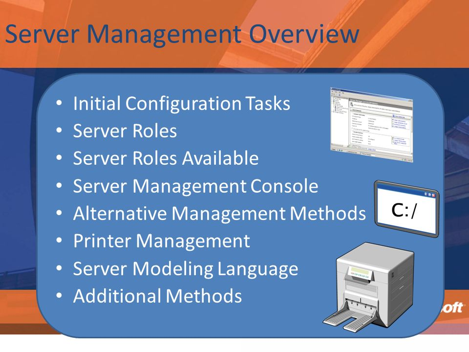 Server Management Overview