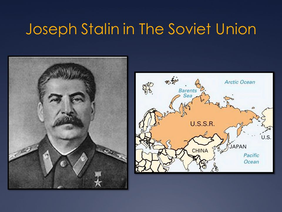Joseph Stalin in The Soviet Union