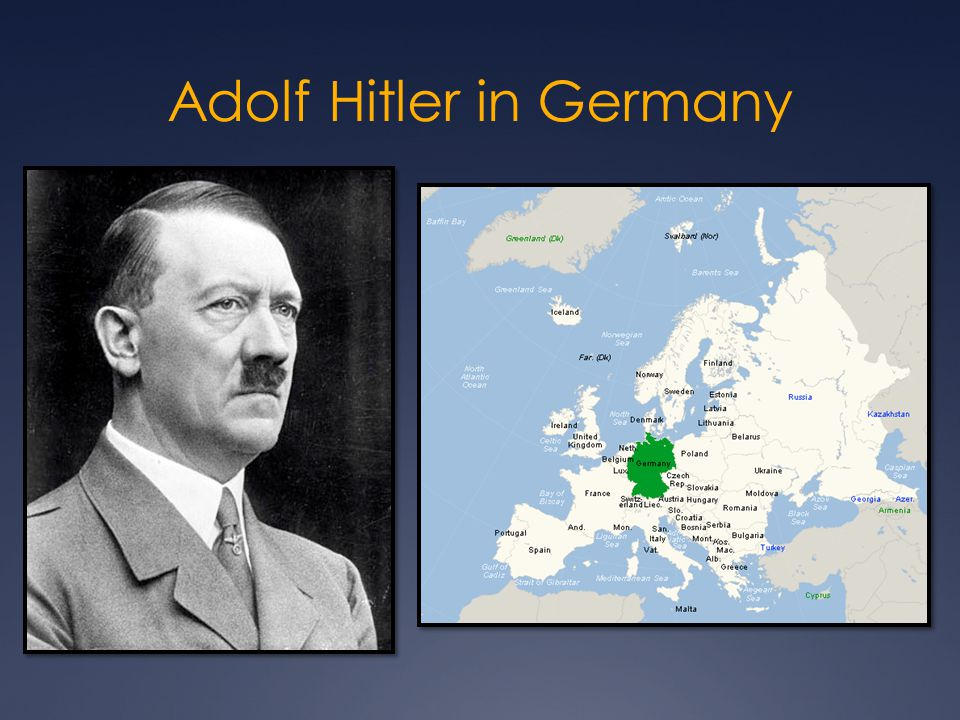 Adolf Hitler in Germany