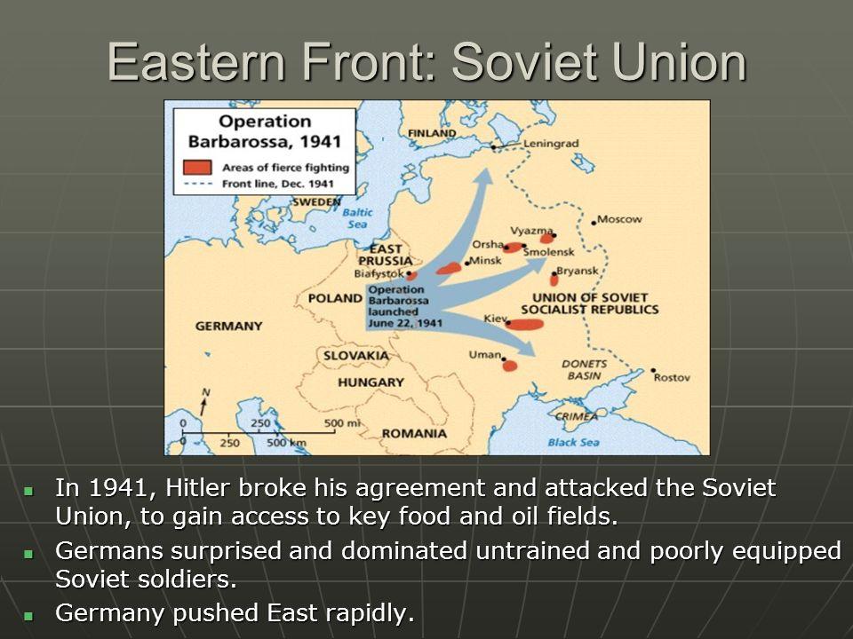 Eastern Front: Soviet Union