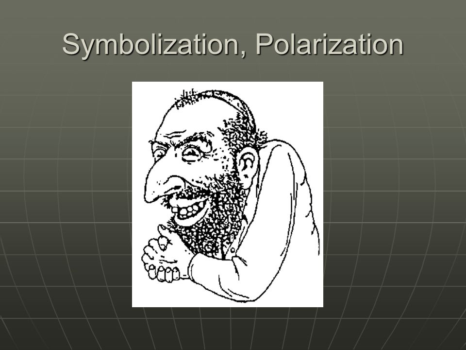 Symbolization, Polarization