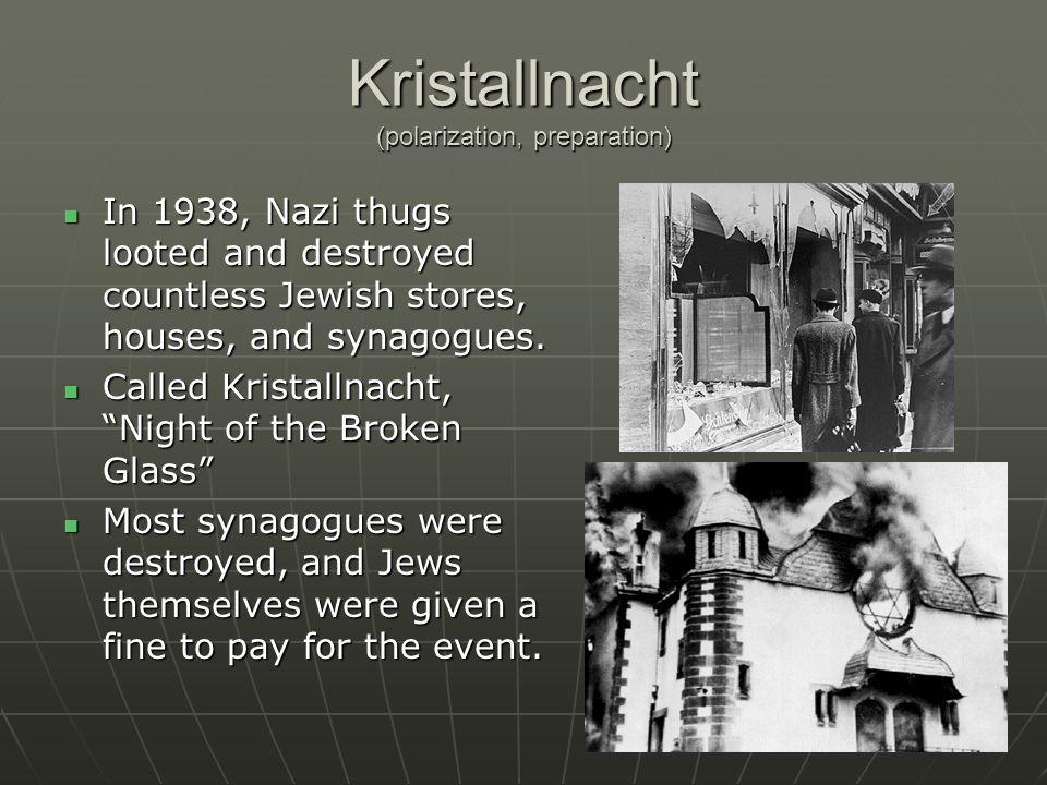 Kristallnacht (polarization, preparation)