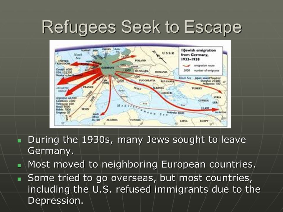 Refugees Seek to Escape