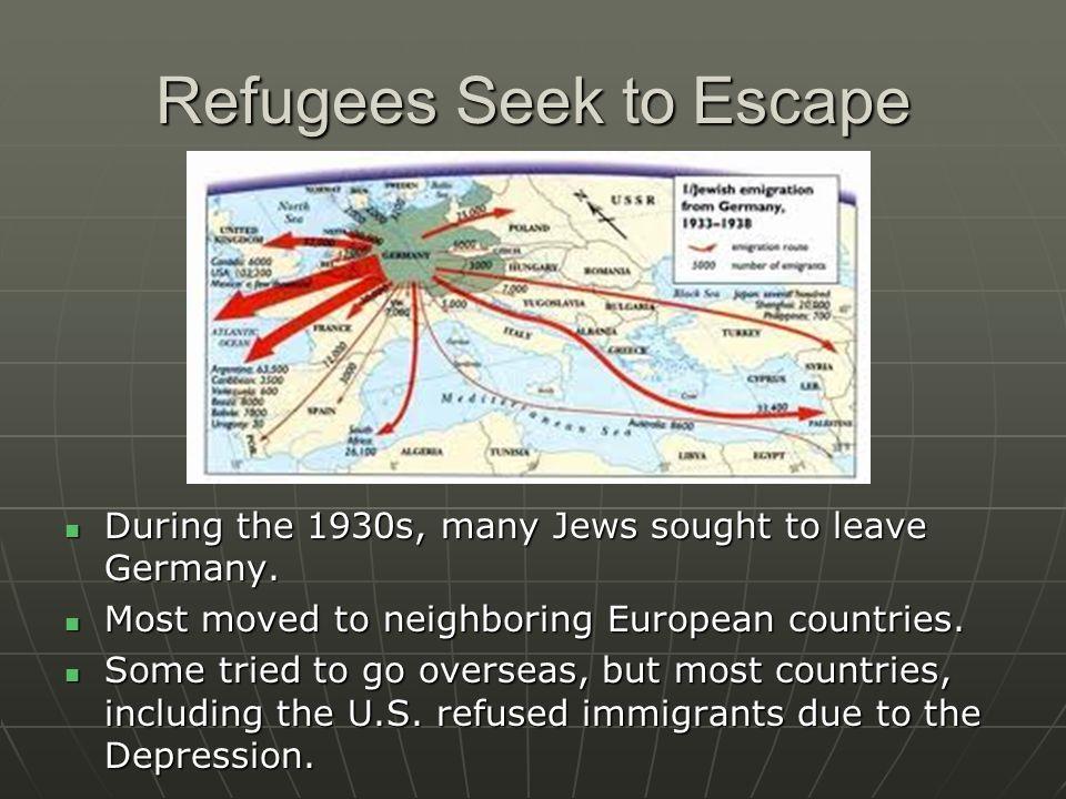 Refugees Seek to Escape