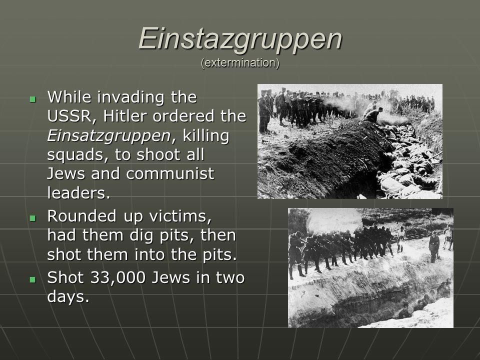 Einstazgruppen (extermination)