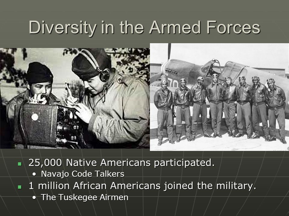 Diversity in the Armed Forces