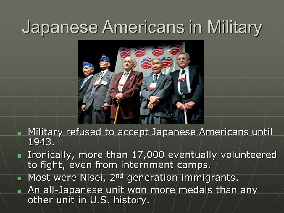 Japanese Americans in Military