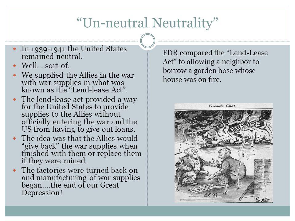 Un-neutral Neutrality