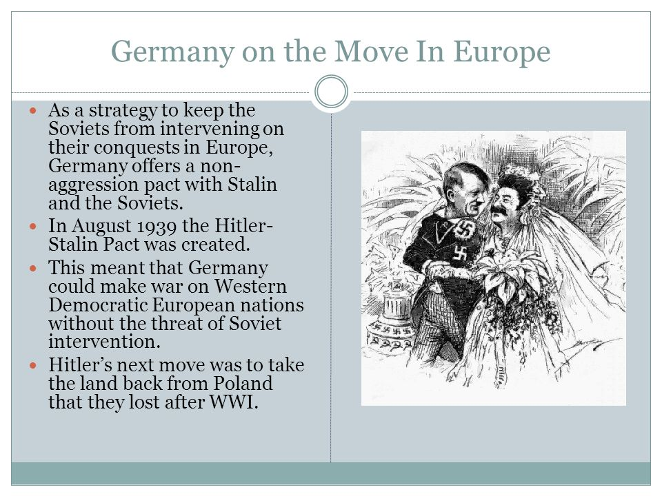 Germany on the Move In Europe