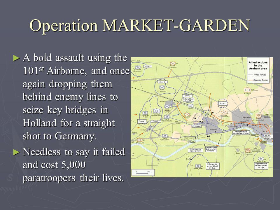 Operation MARKET-GARDEN