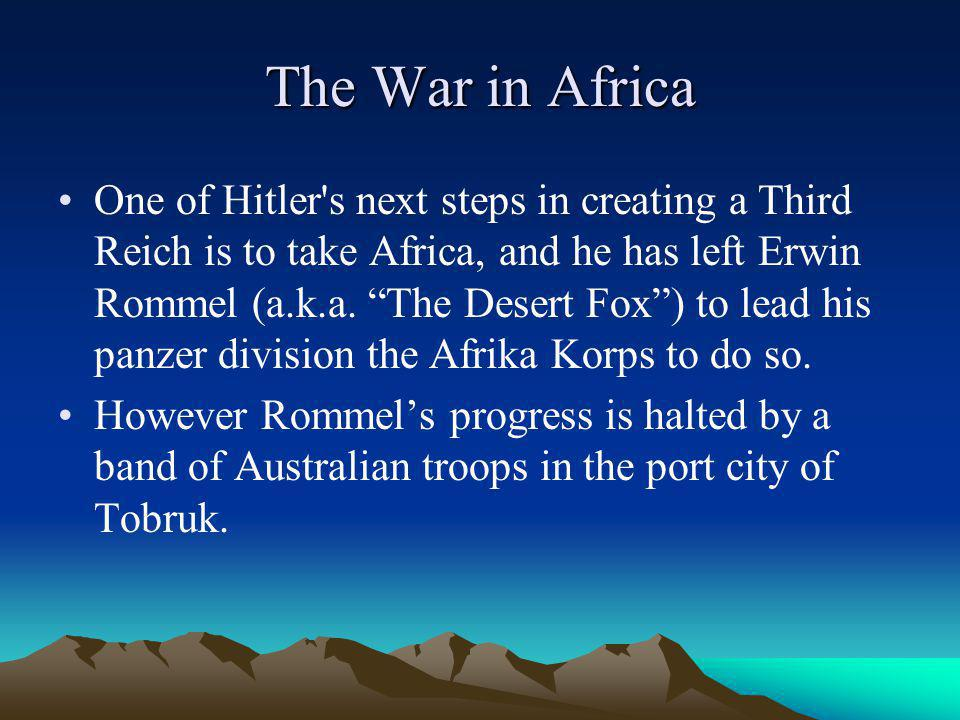The War in Africa