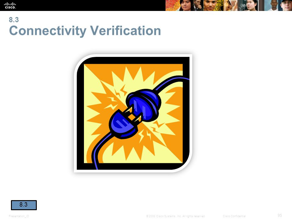 8.3 Connectivity Verification