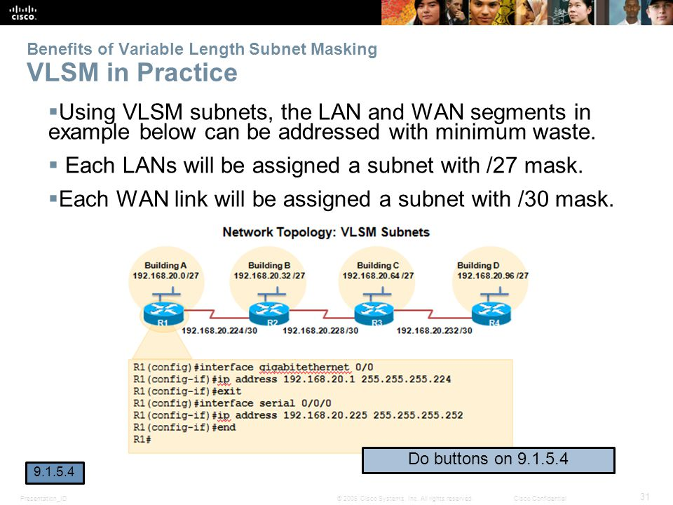 Benefits of Variable Length Subnet Masking VLSM in Practice