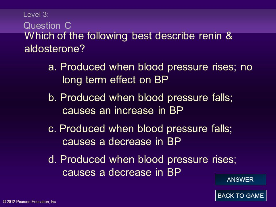 Which of the following best describe renin & aldosterone