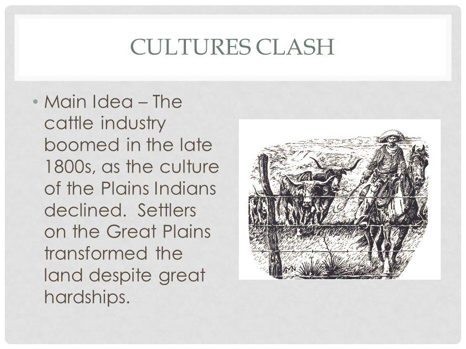 Cultures Clash
