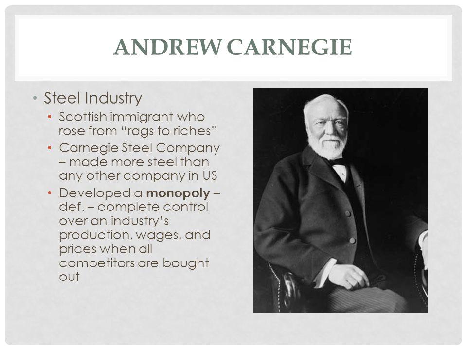 Andrew Carnegie Steel Industry