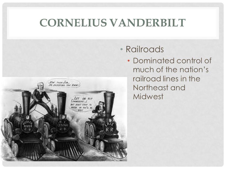 Cornelius Vanderbilt Railroads