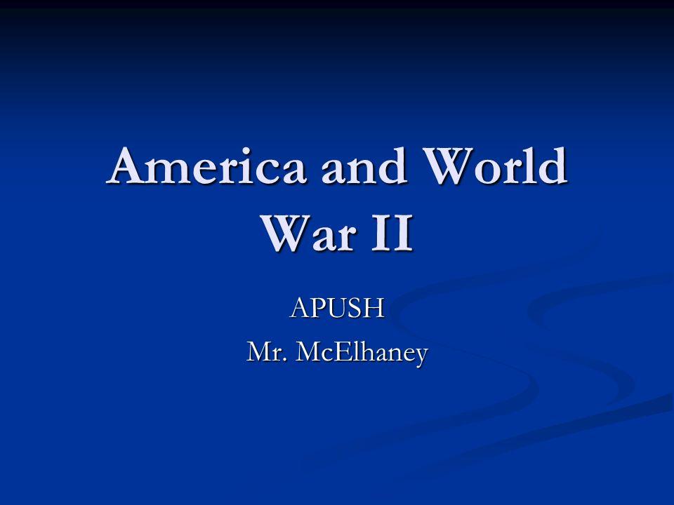 America and World War II