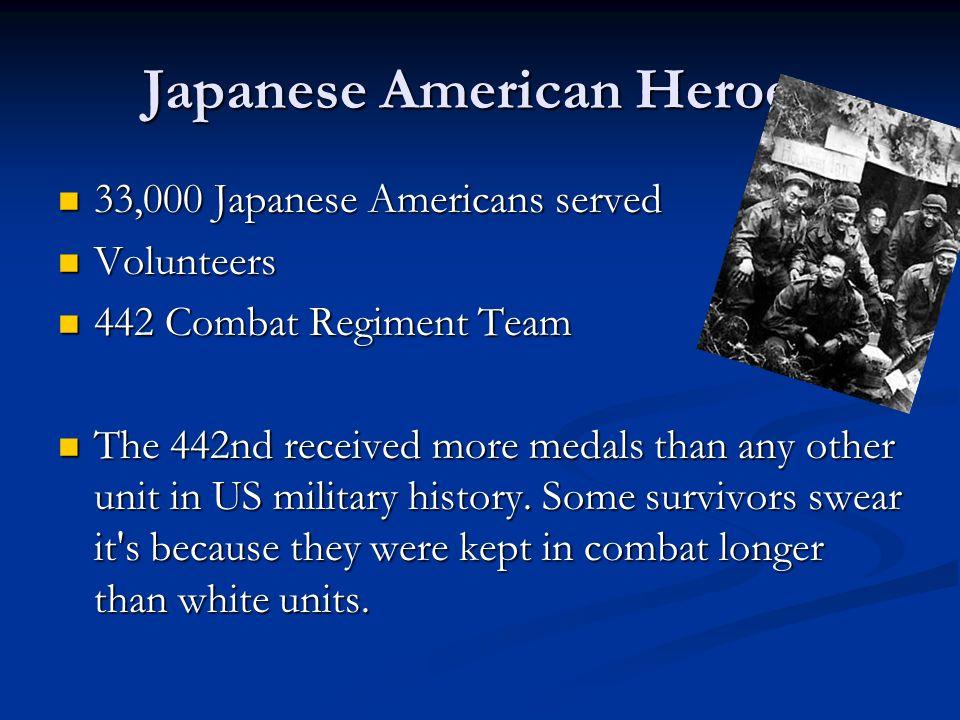 Japanese American Heroes