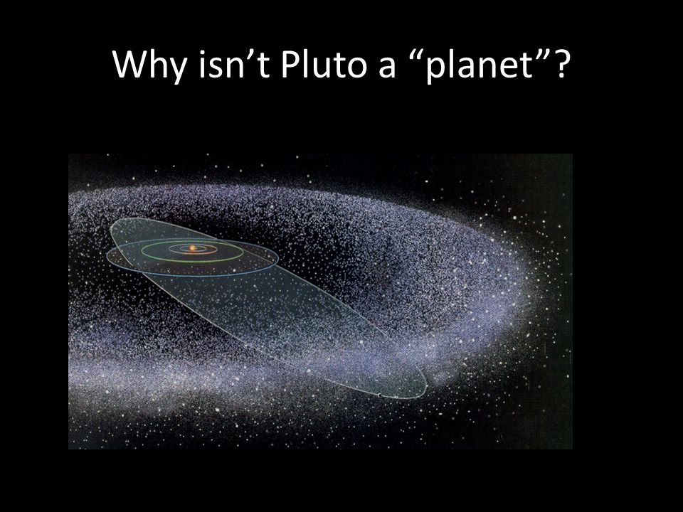 Why isn't Pluto a planet