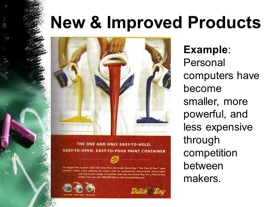 New & Improved Products