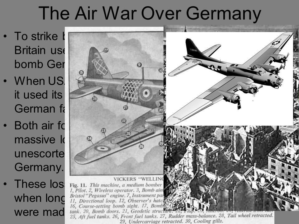 The Air War Over Germany