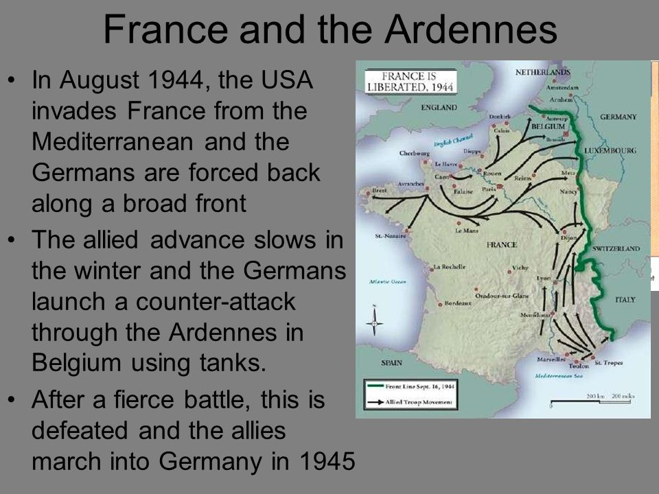 France and the Ardennes