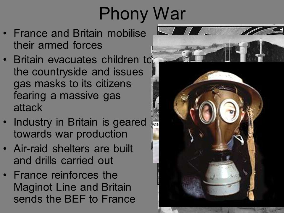 Phony War France and Britain mobilise their armed forces