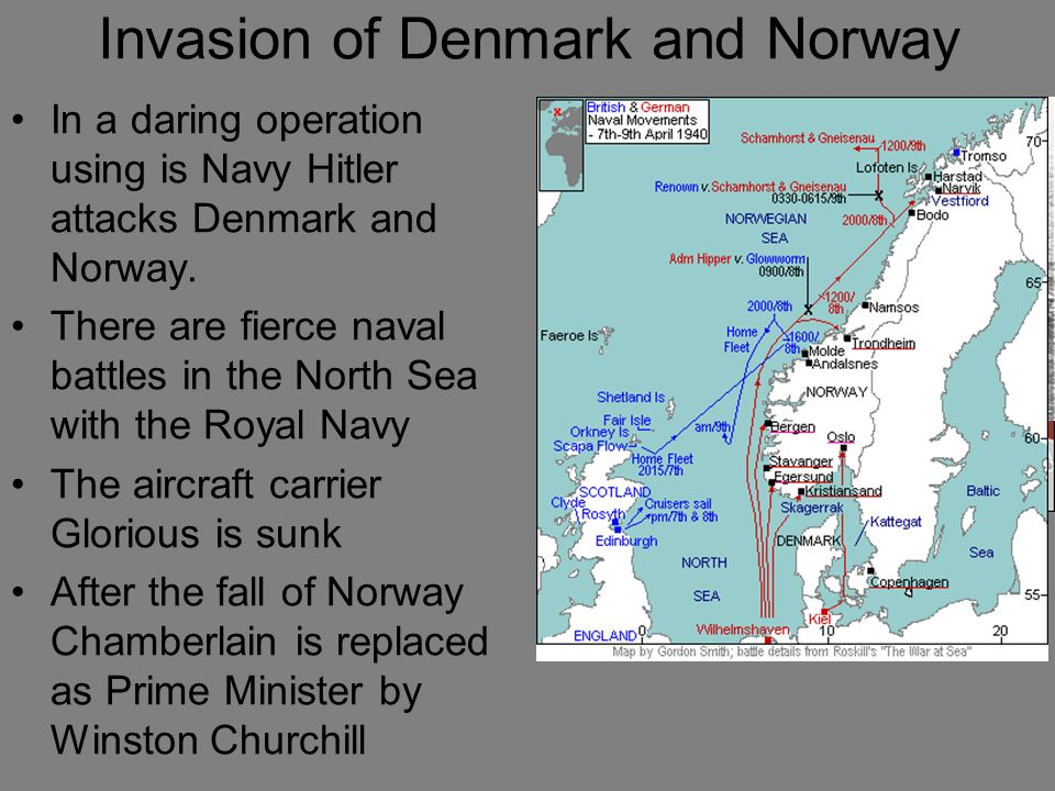 Invasion of Denmark and Norway