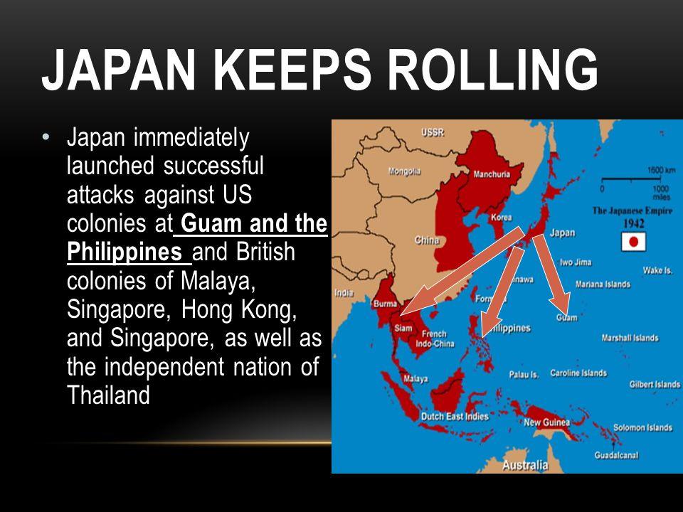 Japan Keeps Rolling