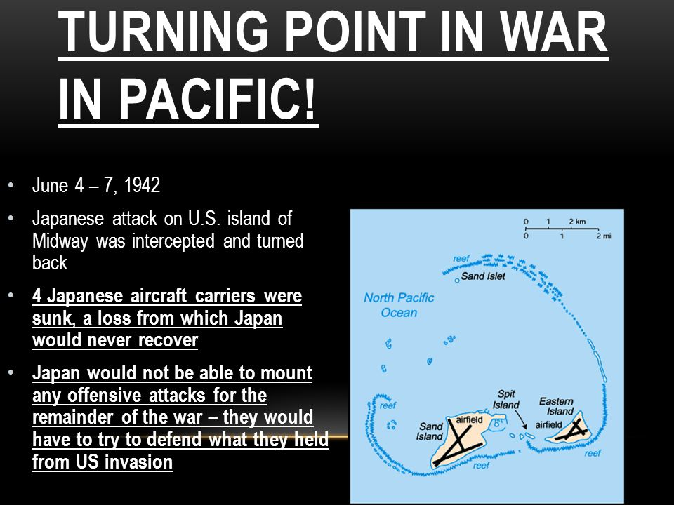 Battle of Midway-turning point in war in pacific!