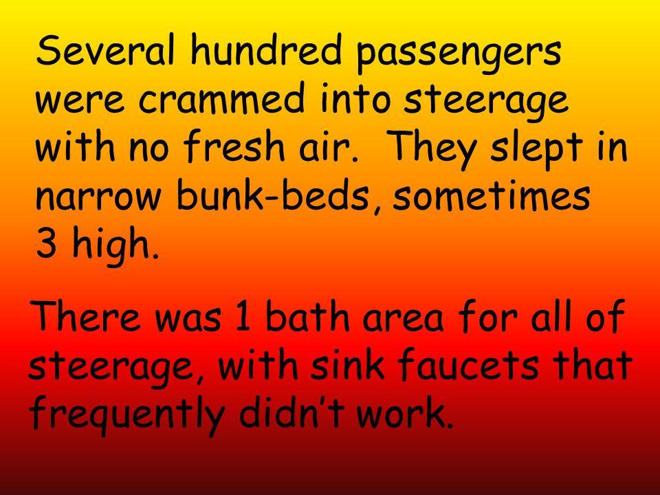 Several hundred passengers