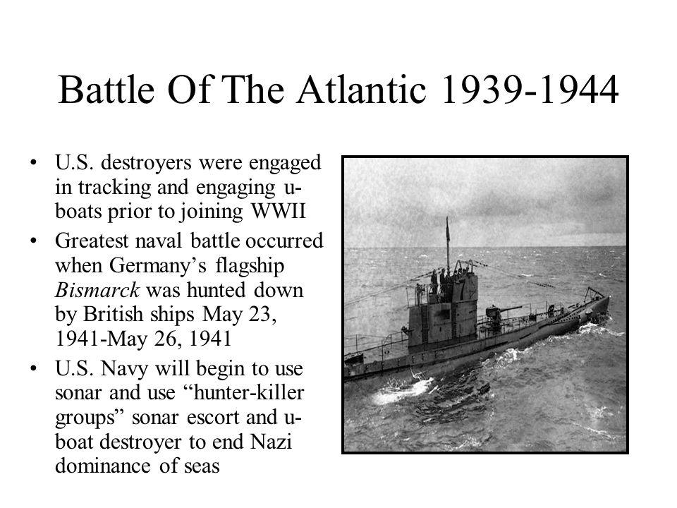 Battle Of The Atlantic 1939-1944