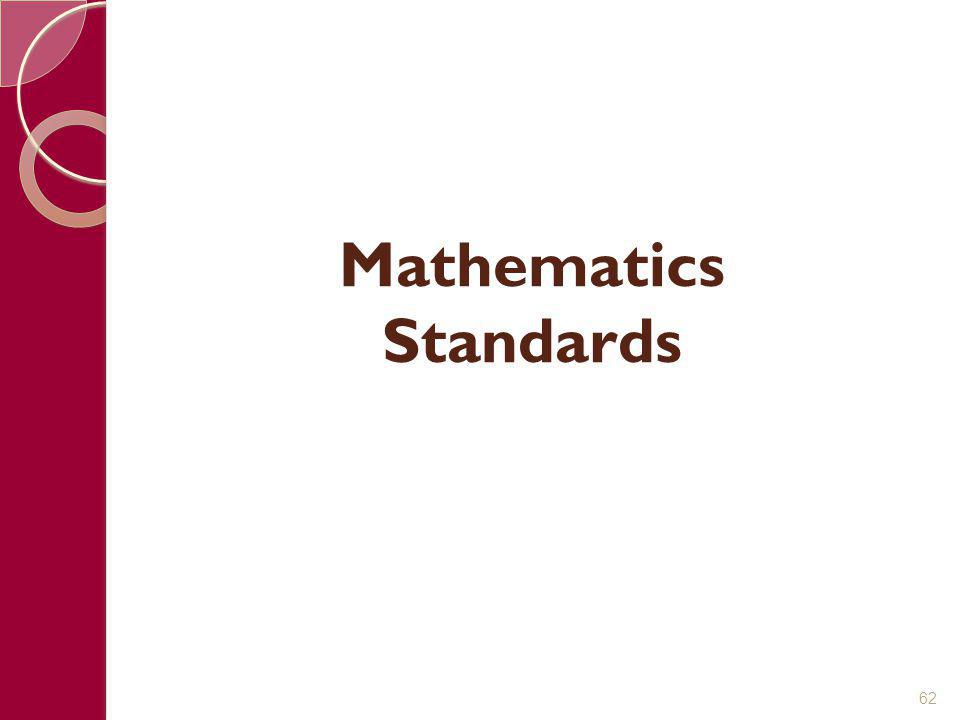 Mathematics Standards