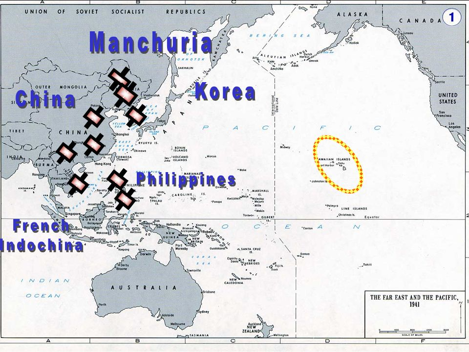 Manchuria Korea China Philippines French Indochina E. Japan