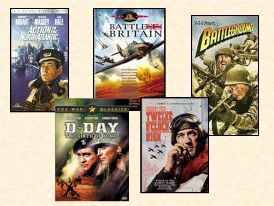 To boost morale, the government promoted the war through the use of movies, songs, and radio shows with patriotic themes.